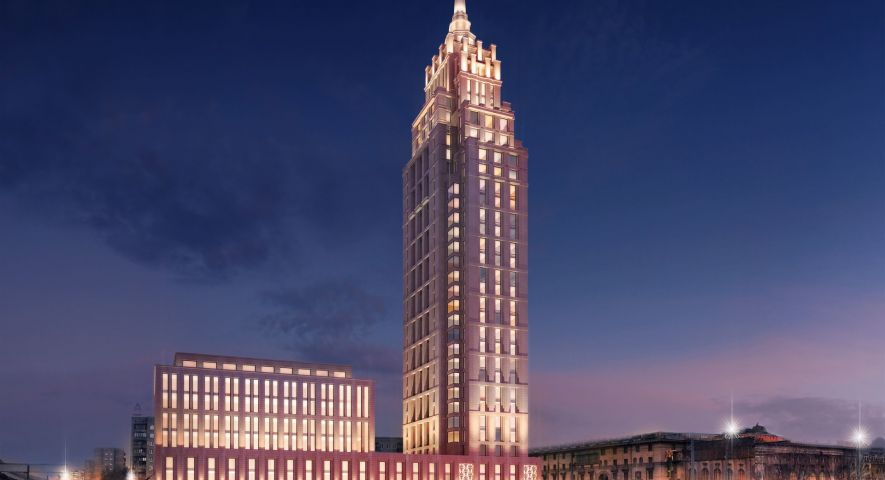 Комплекс апартаментов Alcon Tower (Алкон Тауэр) изображение 0