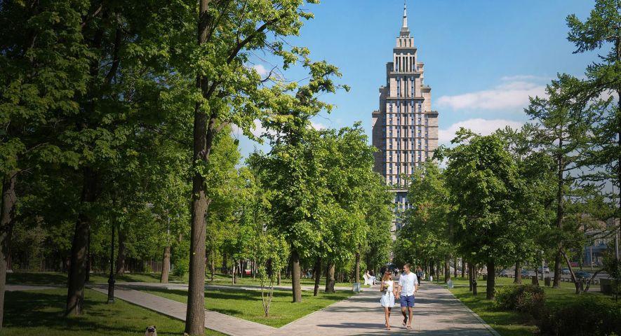 Комплекс апартаментов Alcon Tower (Алкон Тауэр) изображение 12