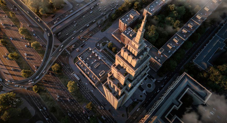 Комплекс апартаментов Alcon Tower (Алкон Тауэр) изображение 13