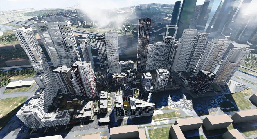 Жилой квартал HEADLINER (Хедлайнер, бывш. «Центр-Сити») изображение 2