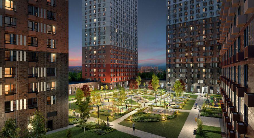 Жилой комплекс «Большая Очаковская 2» изображение 2