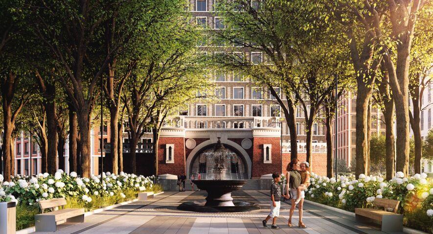 ЖК «Серебряный фонтан» изображение 1