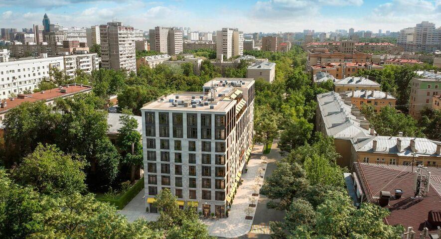 Комплекс апартаментов Residence Hall Шаболовский изображение 4