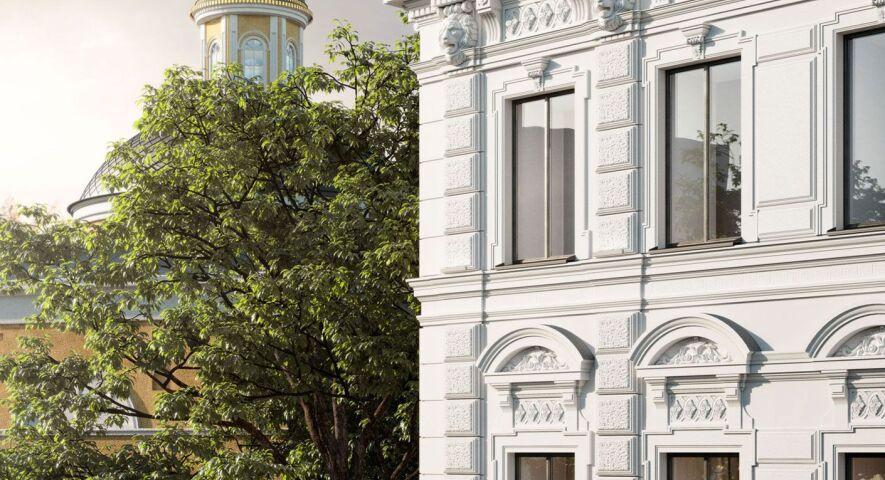 Клубный дом «Дом с Атлантами» изображение 1