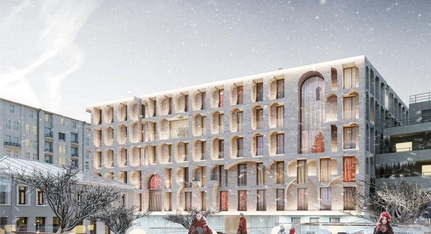 Комплекс апартаментов Allegoria Mosca изображение 7