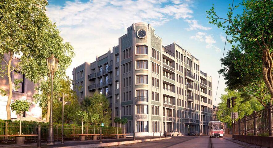 Комплекс апартаментов «Резиденция на Покровском бульваре» изображение 1