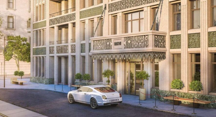 Комплекс апартаментов «Резиденция на Покровском бульваре» изображение 2