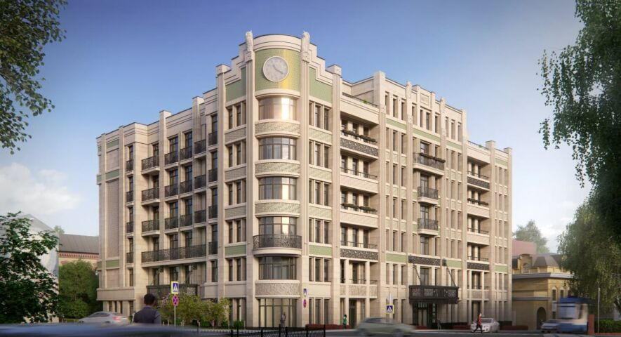 Комплекс апартаментов «Резиденция на Покровском бульваре» изображение 5